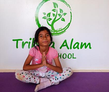 trihita alam eco school yoga